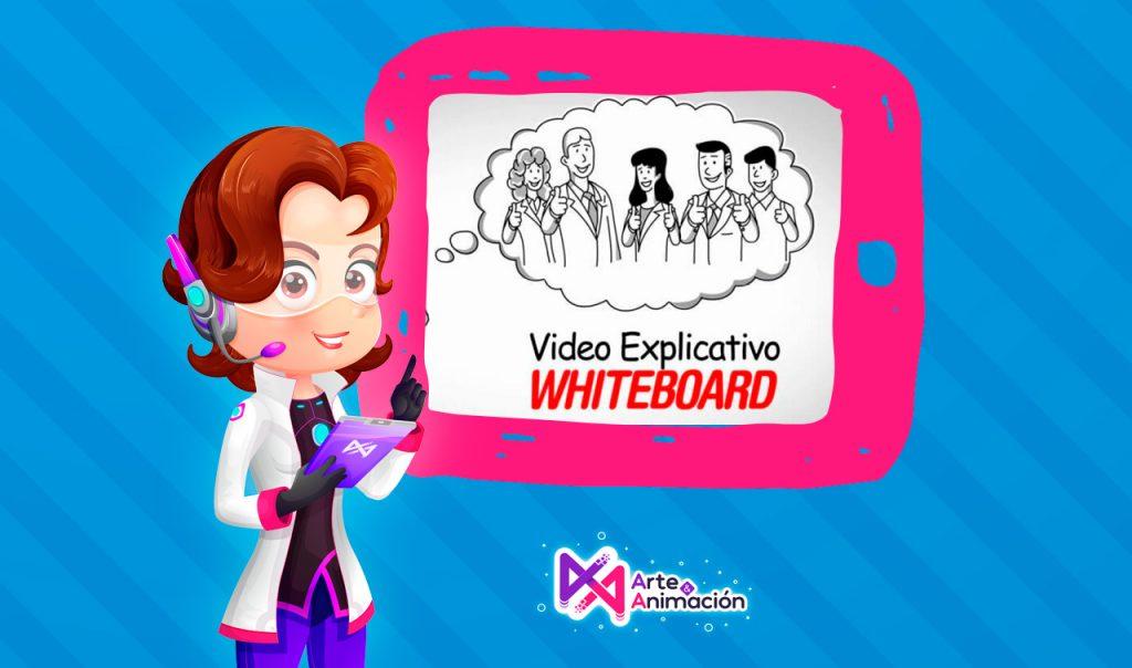 ¿Qué es un video scribing, whiteboard o video pizarra?